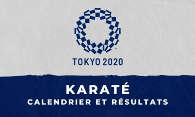 Karaté - Jeux Olympiques de Tokyo calendrier et résultats