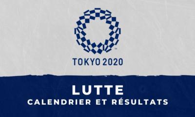 Lutte - Jeux Olympiques de Tokyo calendrier et résultats