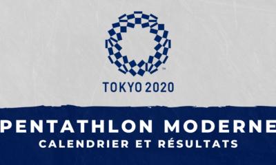 Pentathlon moderne - Jeux Olympiques de Tokyo calendrier et résultats