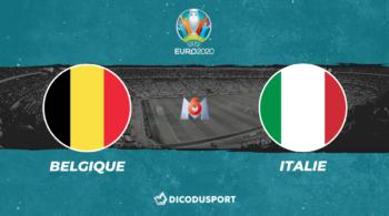 Pronostic Belgique – Italie, Euro 2020