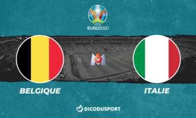 Pronostic Belgique - Italie, Euro 2020