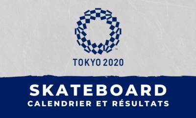 Skateboard - Jeux Olympiques de Tokyo calendrier et résultats