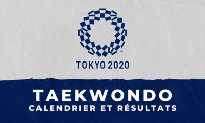 Taekwondo - Jeux Olympiques de Tokyo calendrier et résultats