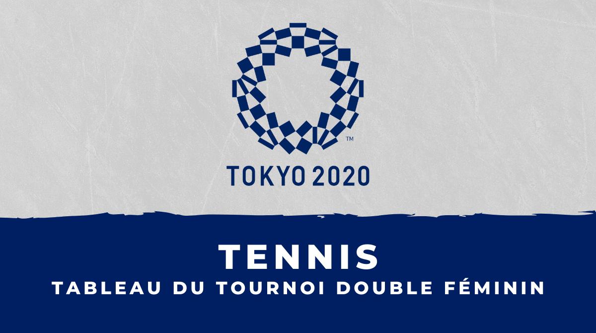 Tennis - Jeux Olympiques de Tokyo le tableau du tournoi double féminin