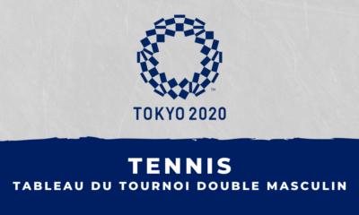 Tennis - Jeux Olympiques de Tokyo : le tableau du tournoi double masculin