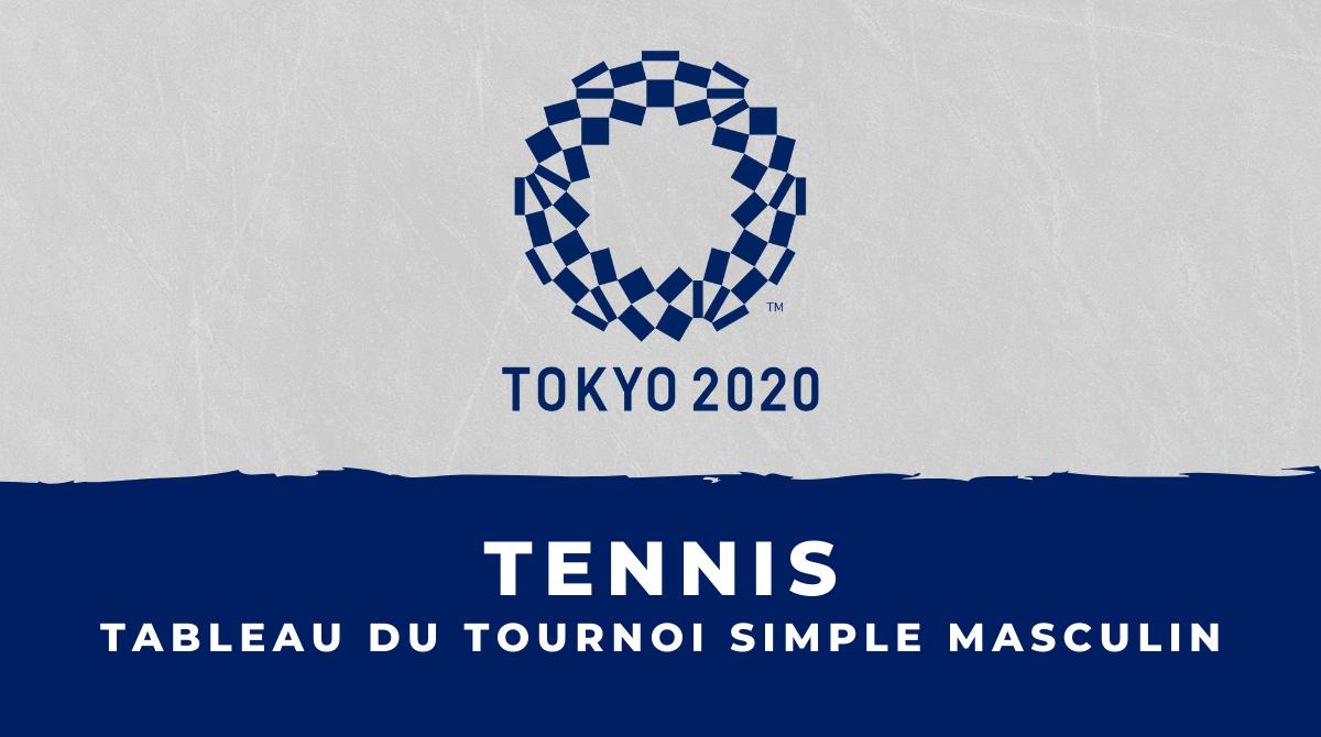 Tennis - Jeux Olympiques de Tokyo le tableau du tournoi masculin