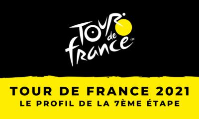 Tour de France 2021 - Le profil de la 7ème étape