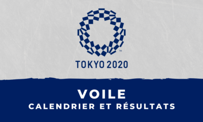 Voile - Jeux Olympiques de Tokyo calendrier et résultats