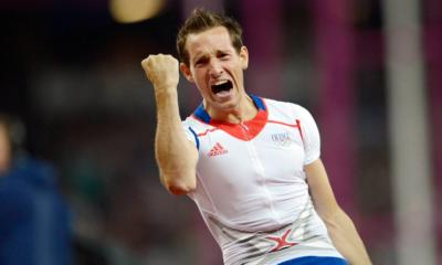 10 août 2012 Renaud Lavillenie s'offre le titre olympique
