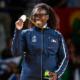 12 août 2016 Emilie Andéol au sommet de l'Olympe
