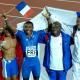 13 août 2005 L'or mondial pour le relais 4 x 100 m masculin français