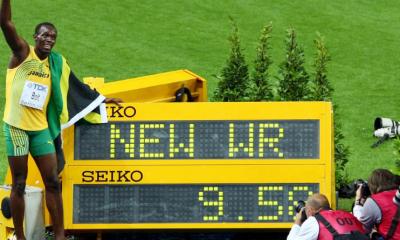 16 août 2009 Record du monde du 100 m pour Usain Bolt