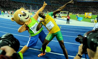 20 août 2009 Après le 100, le record du 200 m pour Usain Bolt