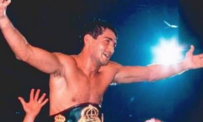 21 août 1996 Laurent Boudouani, champion WBA des super-welters