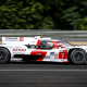 24 Heures du Mans les Toyota en démonstration