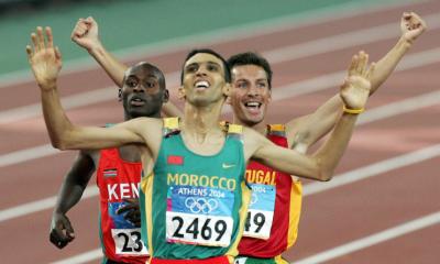 24 août 2004 Hicham El Guerrouj enfin sur le toit de l'Olympe