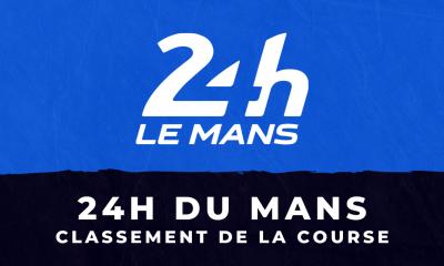 24 heures du Mans 2021 - le classement de la course