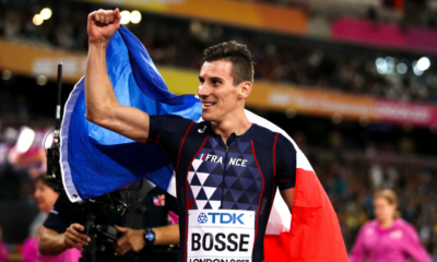 8 août 2017 Pierre-Ambroise Bosse est champion du monde du 800 m