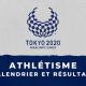 Athlétisme - Jeux Paralympiques de Tokyo calendrier et résultats