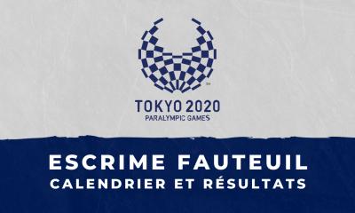 Escrime fauteuil - Jeux Paralympiques de Tokyo calendrier et résultats