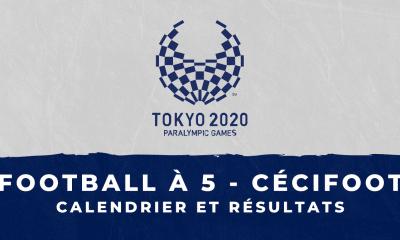 Football à 5 - Jeux Paralympiques de Tokyo calendrier et résultats