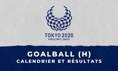Goalball masculin - Jeux Paralympiques de Tokyo calendrier et résultats