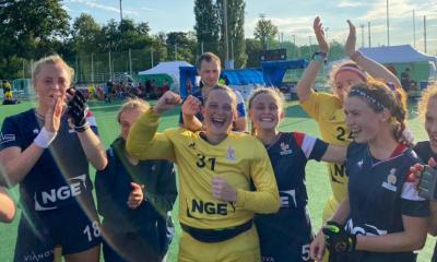 Hockey sur gazon : L'equipe de France féminine en finale des championnats d'Europe II