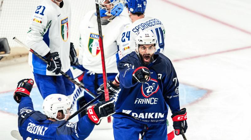 Hockey sur glace - TQO Les Bleus blanchissent sereinement l'Italie et attendent la Lettonie