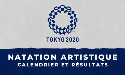 Natation artistique - Jeux Olympiques de Tokyo calendrier et résultats