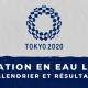 Natation eau libre - Jeux Olympiques de Tokyo calendrier et résultats