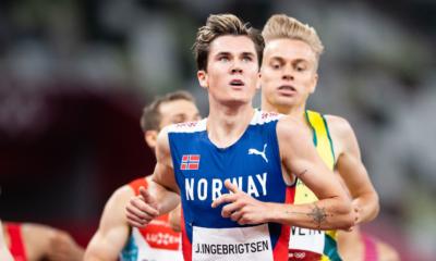 JO Tokyo 2020 - Athlétisme Jakob Ingebrigtsen titré sur le 1 500m