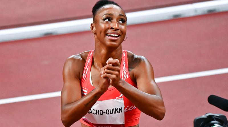 JO Tokyo 2020 - Athlétisme Jasmine Camacho-Quinn décroche l'or sur le 100 mètres haies