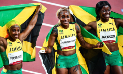 JO Tokyo 2020 - Athlétisme La Jamaïque en or sur le relais 4x100 mètres féminin