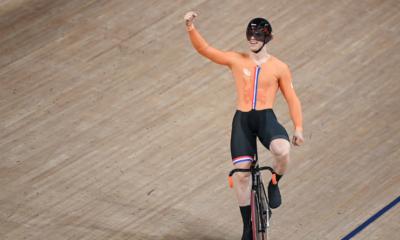 JO Tokyo 2020 - Cyclisme sur piste Harrie Lavreysen champion olympique de la vitesse masculine