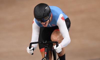 JO Tokyo 2020 - Cyclisme sur piste Kelsey Mitchell championne olympique de la vitesse individuelle