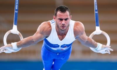JO Tokyo 2020 - Gymnastique Yang Liu titré aux anneaux, Samir Aït Saïd 4ème