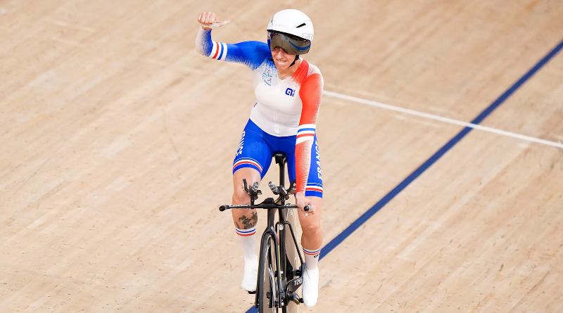 JP - Jeux Paralympiques de Tokyo - Cyclisme sur piste Marie Patouillet remporte la première médaille française