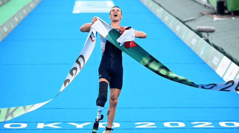JP - Jeux Paralympiques de Tokyo - Triathlon Alexis Hanquinquant champion paralympique en PTS4