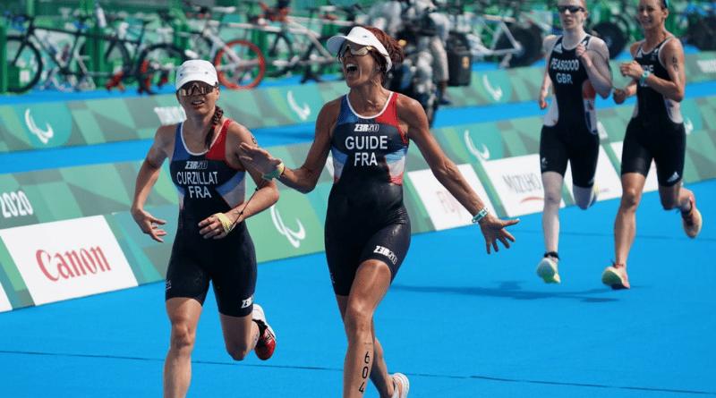 JP - Jeux Paralympiques de Tokyo - Triathlon Annouck Curzillat prend le bronze en PTVI