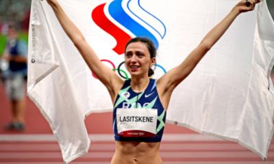 Jeux - JO Tokyo 2020 – Athlétisme Mariya Lasitskene championne olympique de la hauteur