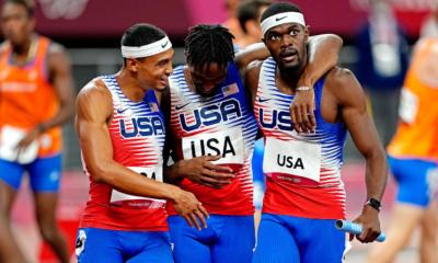 Jeux - JO Tokyo 2020 - Athlétisme les Américains champions olympiques du 4x400 mètres