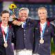 Jeux - JO Tokyo 2020 - Équitation l'équipe de France de concours complet en bronze
