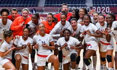 Jeux - JO Tokyo 2020 - Handball Les Bleues en or, la France du hand fait le doublé !