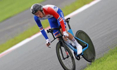 Jeux Paralympiques de Tokyo - Cyclisme sur route Alexandre Léauté troisième du contre-la-montre