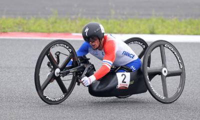 Jeux Paralympiques de Tokyo - Cyclisme sur route Loïc Vergnaud vice-champion paralympique du contre-la-montre