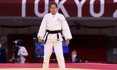 Jeux Paralympiques de Tokyo - Judo Sandrine Martinet en argent chez les moins de 48 kg