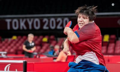 Jeux Paralympiques de Tokyo - Tennis de table Léa Ferney vice-championne paralympique
