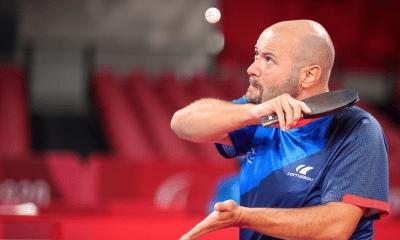 Jeux Paralympiques de Tokyo - Tennis de table Maxime Thomas en bronze en Classe 4