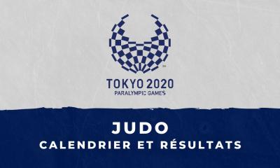 Judo - Jeux Paralympiques de Tokyo calendrier et résultats