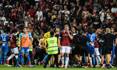 Ligue 1 : Match arrêté entre l'OGC Nice et l'Olympique de Marseille